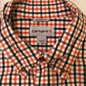 Carhartt Relaxed Fit Large Short Sleeve Shirt